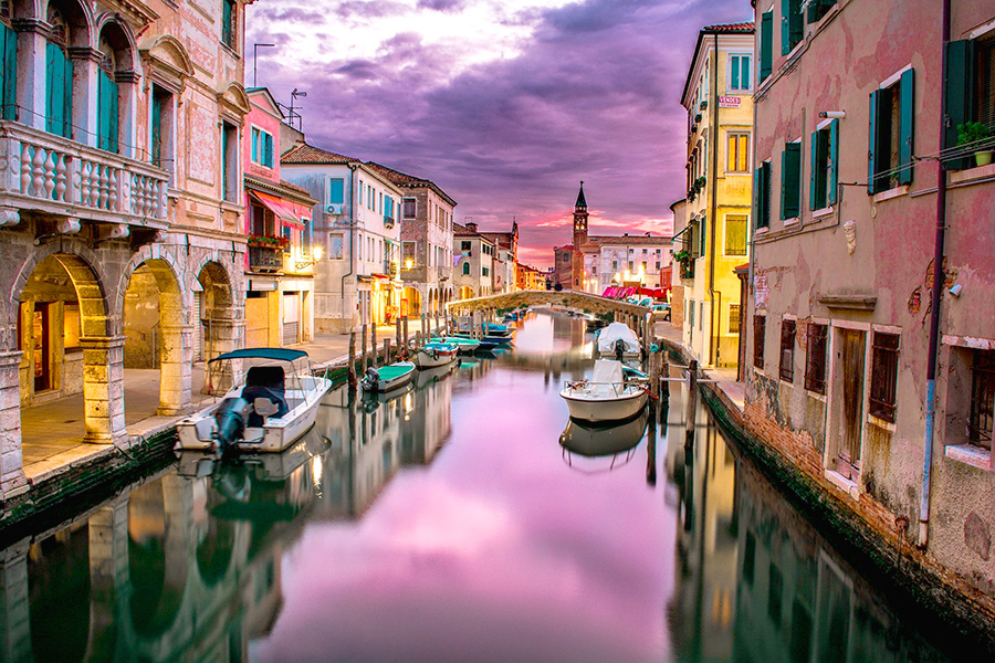 ヴェネツィア、水の都、イタリア風景、観光都市