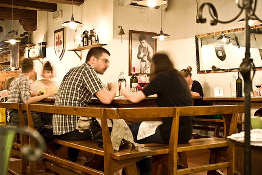 留学生の1日 イタリアの夜 夕食