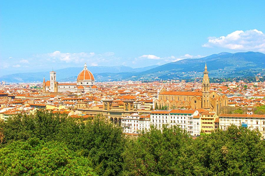 イタリア留学、フィレンツェ、風景