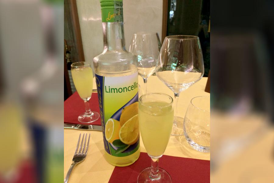 イタリアお酒、リモンチェッロ、食後酒