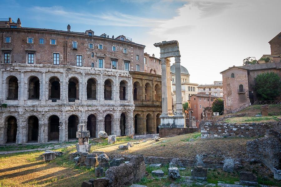 イタリア、ローマ、コロッセオ、フォロ・ロマーノ、世界遺産