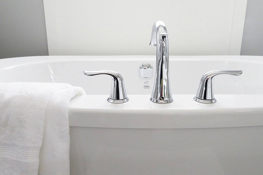 イタリア浴槽、お風呂