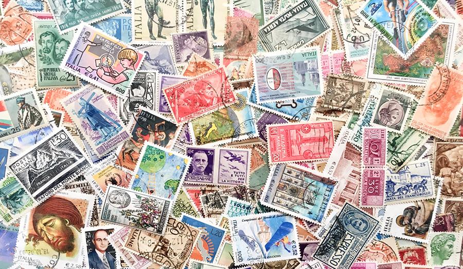 イタリア生活、イタリア切手、イタリア郵便事情、使用済み切手