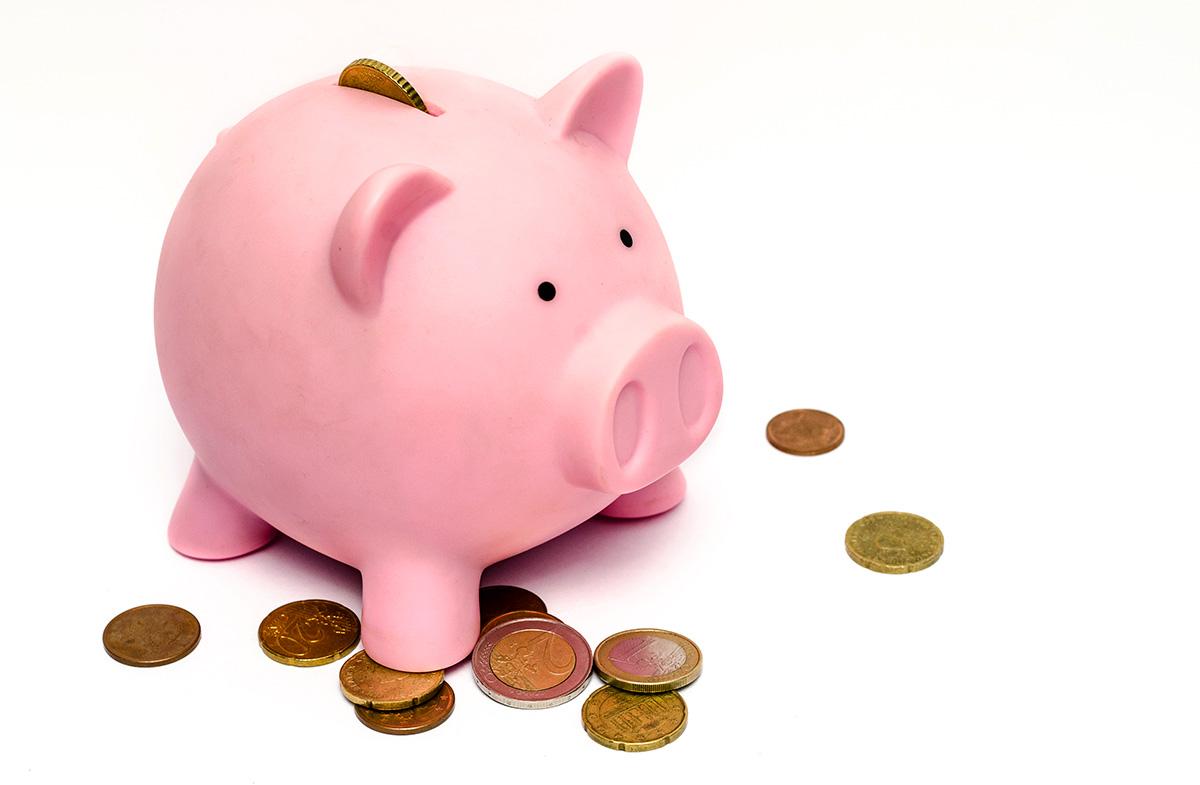 貯金箱、資金、貯金、豚の貯金箱