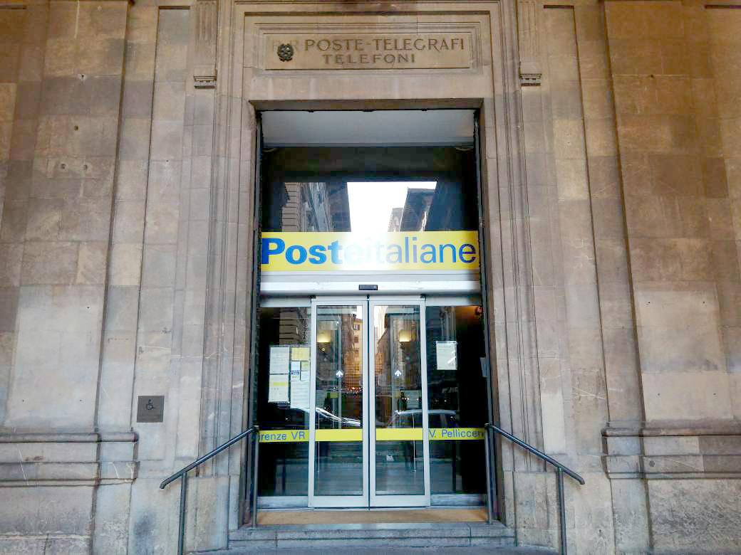 イタリアの郵便局、イタリア、郵便局、ポステイタリアーネ