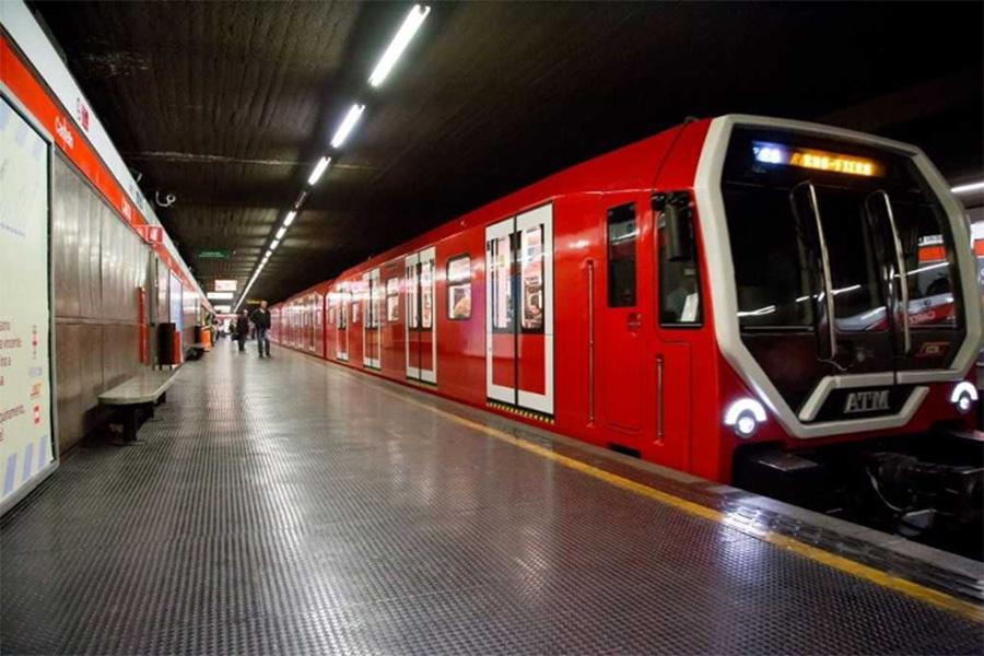 イタリア風景、イタリア公共交通機関、メトロ