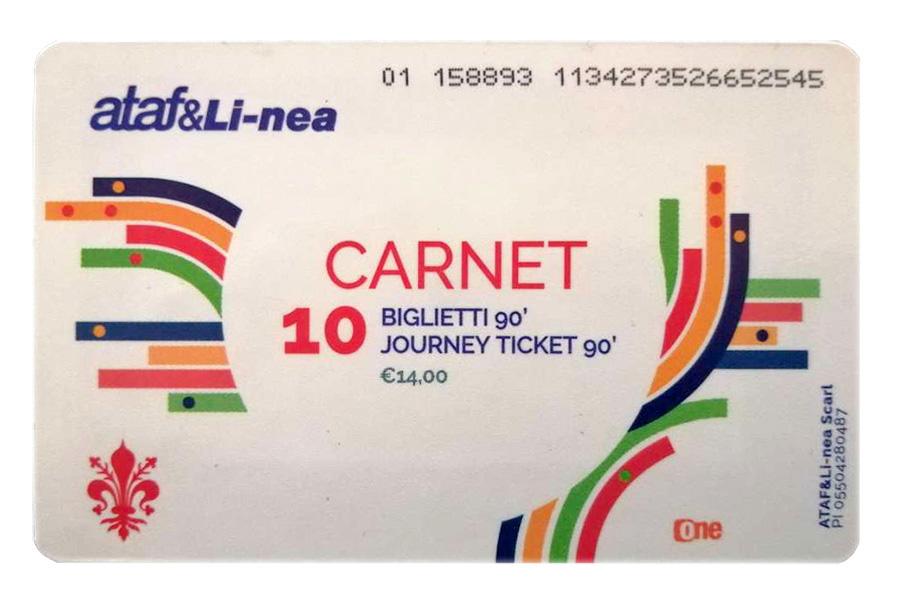 回数券、イタリア切符