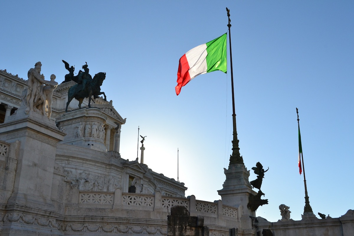 ローマ、イタリア、ベネチア広場
