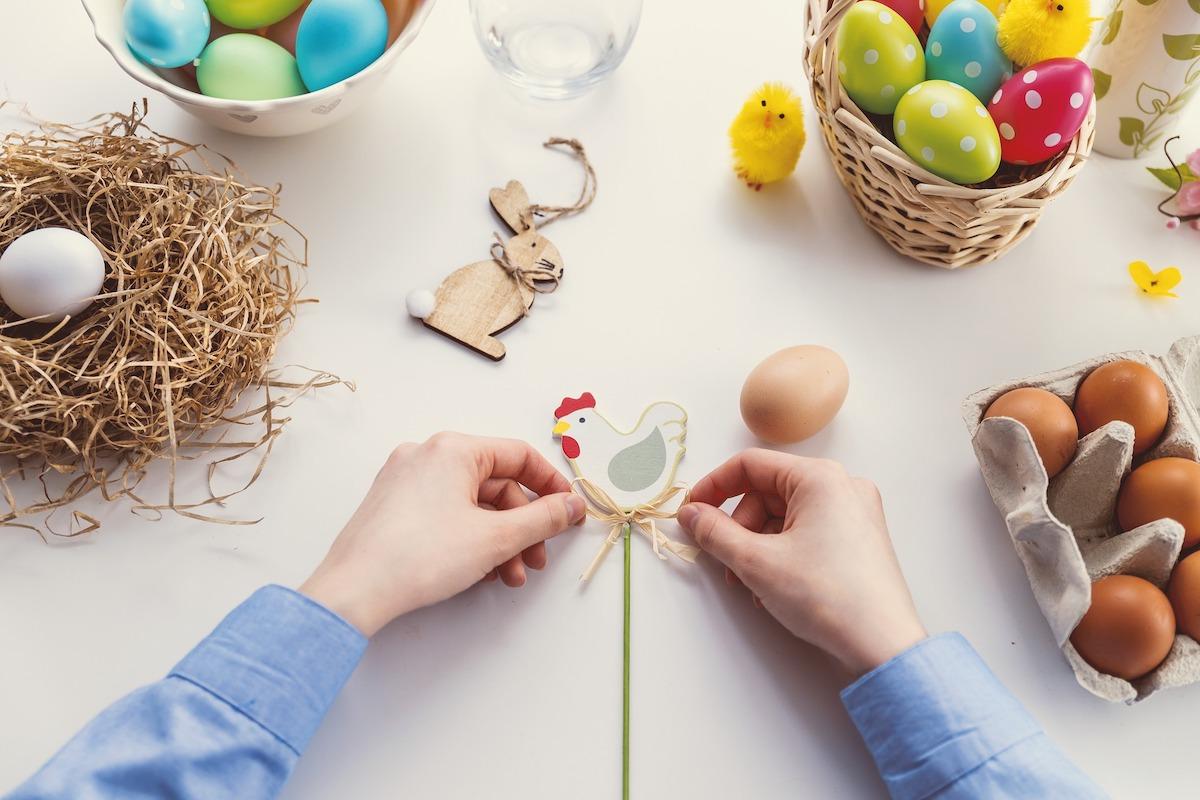 イースター、イースターエッグ、イタリアお祭り、復活祭、イタリア