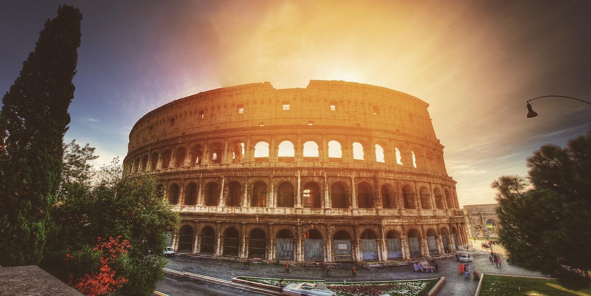 コロッセオ、イタリア、イタリア風景、ローマ