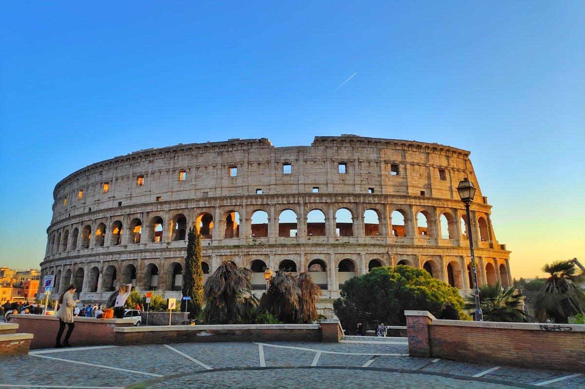 ローマ、コロッセオ、イタリア、イタリア風景