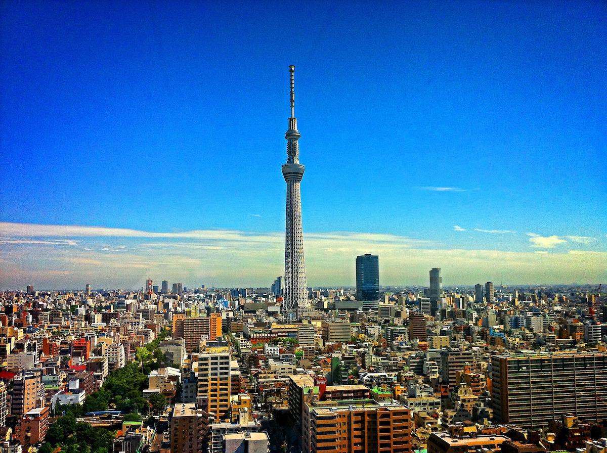 東京、日本、日本風景