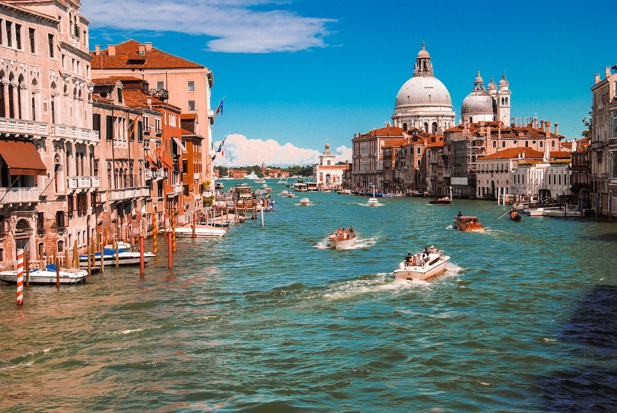 イタリア、ヴェネチア、イタリア風景