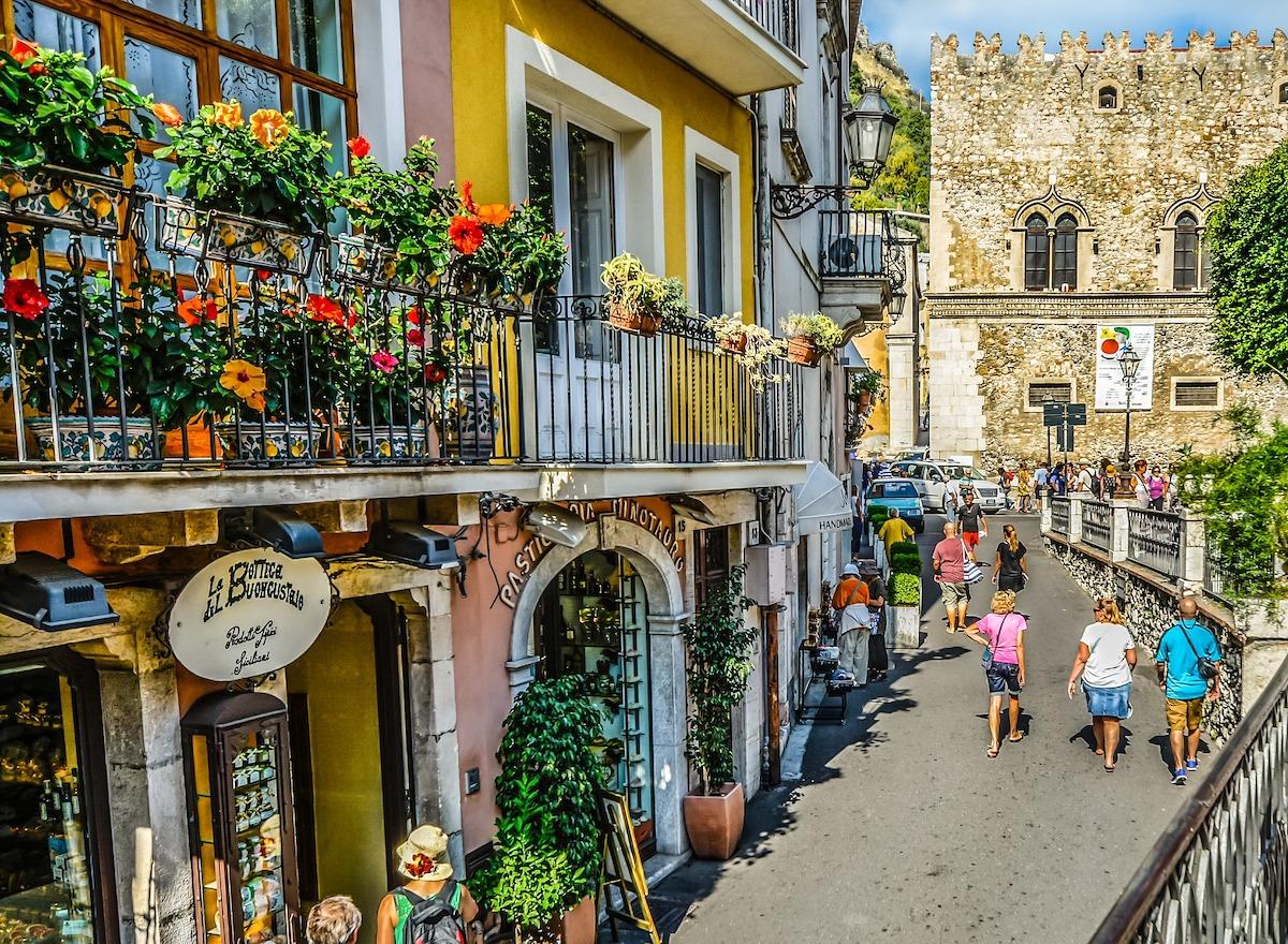 イタリア、街並み、イタリア生活、イタリアライフ
