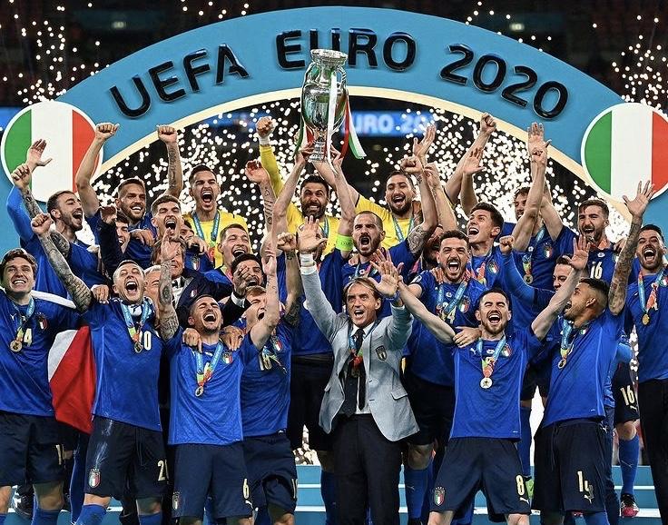 ユーロ2020、イタリア優勝、イタリア、サッカー欧州選手権、アッズーリ、azzuri