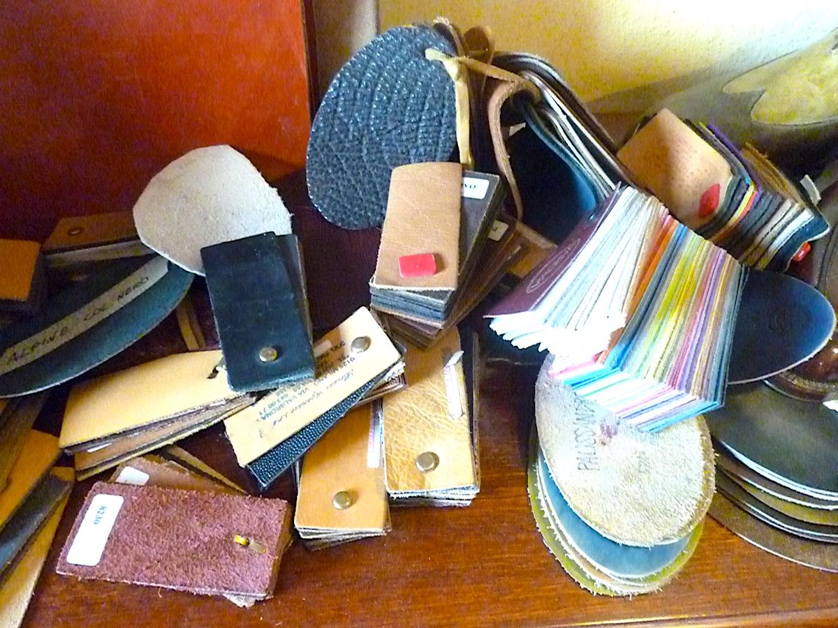 靴職人道具、工具、工房