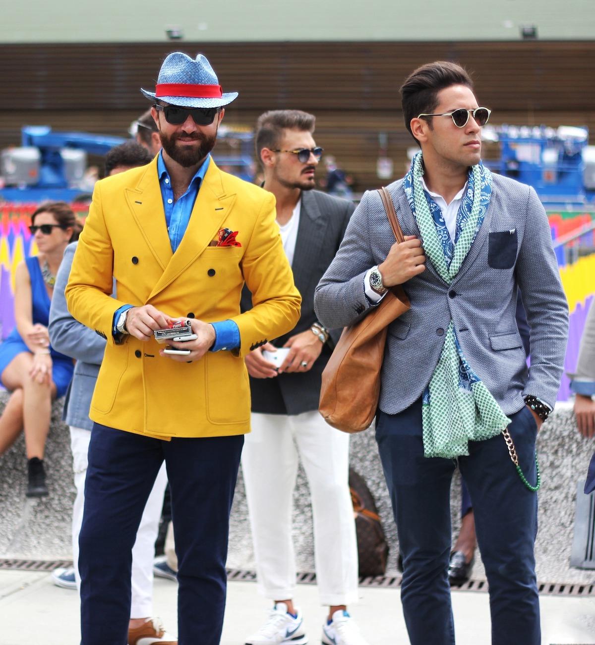 スーツ姿の男性、イタリア人、イタリア風景
